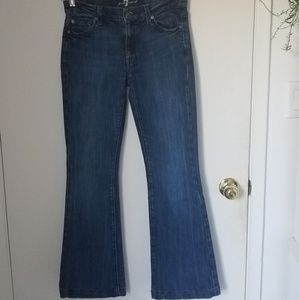 7 For All Mankind Charlize Flare leg Jean  27